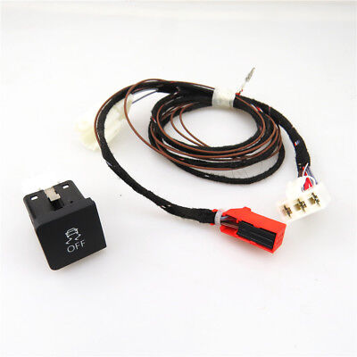 Traction Control ESP Off ASR Switch Button + Cable Harness For VW Golf 6 MK6