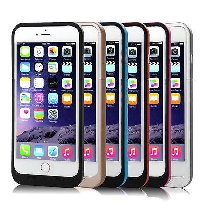 3800mAh Extern Akku Power Pack Batterie Case Taschen Zusatz für iPhone 6/6s