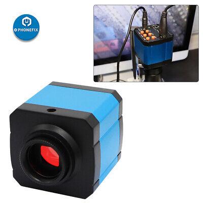 Industrial Microscope Video Camera 38mp Hdmi Usb Hd C-mount For Phone Pcb Repair