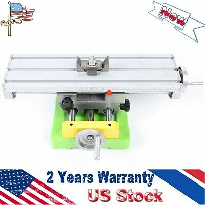 Multifunctional Milling Machine Vise Xy Axis Table Bench Fixture Working