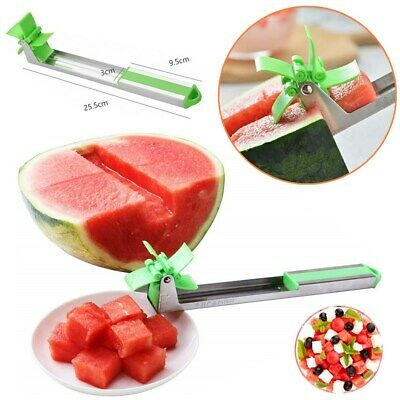 Watermelon Cutter Windmill Shape Plastic Slicer for Cutting Watermelon Tool US