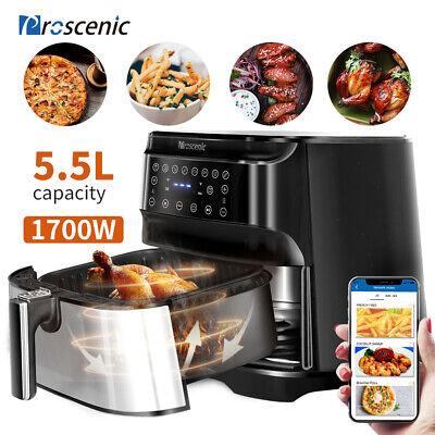 1700w Alexa Air Fryers Deep Fryers Oven Oilless Cooker Led Nonstick Basket 5.8qt
