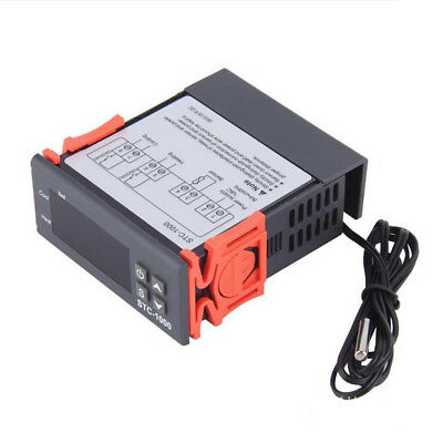 Stc-1000 Temperature Controller Switch Thermostat Aquarium Sensor Acces 12v-220v