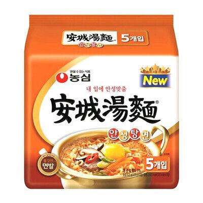 Nongshim AnsungTangMyun Spicy Hot Ramen Ramyun Noodle (5Pcs) / Korean Food