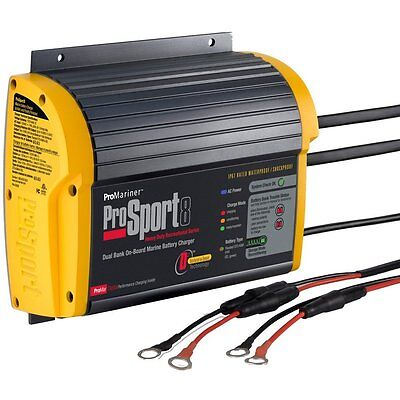 PROMARINER ProSport 8 Gen 3 43008 2 BANK Heavy Duty Marine Battery Charger
