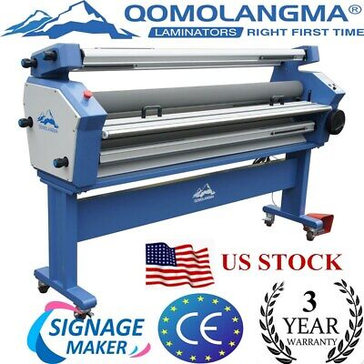 Us Stock-63 Full-auto Cold Laminator Heat Assisted Large Format Lamination New