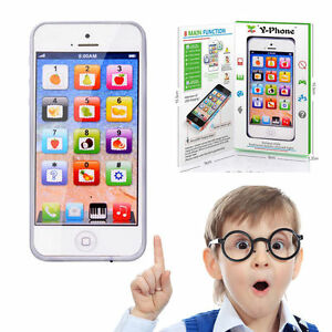 New Baby Kid Educational English Music Maths Learning Mobile Phone Toy Y-Phone
