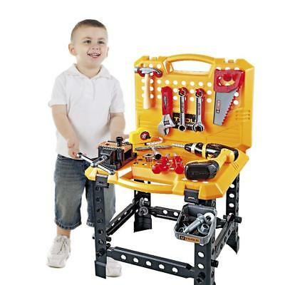 Toy Power Workbench Kids Tool Bench Construction Set Tools for Boys Toddler](Tool Set For Kids)