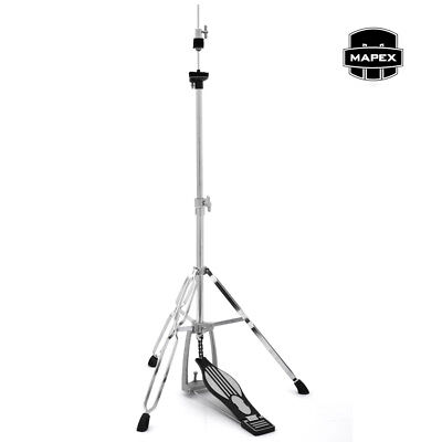 Mapex Hi-Hat Cymbal Stand Double Braced Hardware Mirror Chrome Finish Model H200