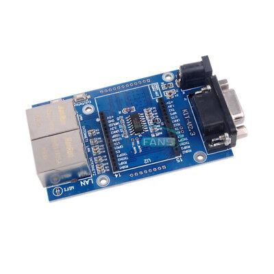 Hlk-rm04 Tcp Ip Ethernet Converter Module Serial Uart Rs232 To Wan Lan Wifi