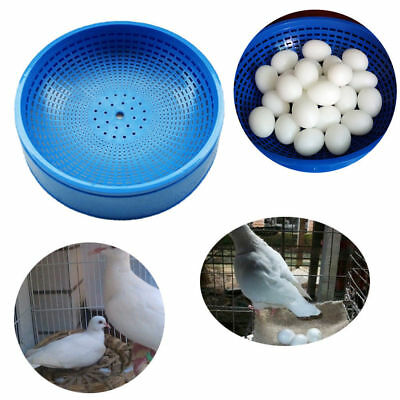 Plastic Racing Pigeon Breeding Eggs Basin Dove Nest Pot Bird Nesting Bowl Loft