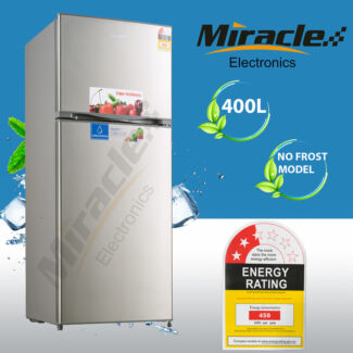 Brand New 400L Frost Free White/Stainless Steel Refrigerator
