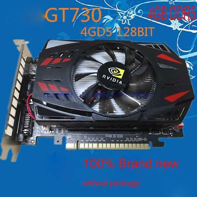 NVIDIA GeForce GT730 4GB GDDR5 128Bit PCI Express Game Video Card Graphics Card for sale  Shipping to Nigeria
