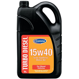 COMMA DMO5L 5L TURBO DIESEL SEMI SYNTHETIC 15W40 MOTOR OIL - TRACKED POSTAGE