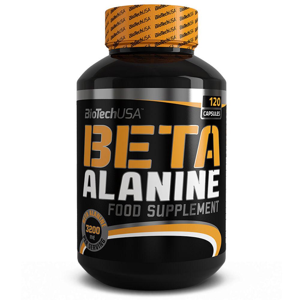 BioTech Beta Alanin 120er Carnosin Muskelaufbau gegen Muskelermüdung Aminosäure