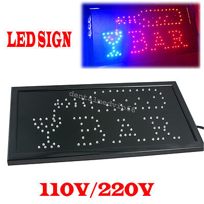 Bright Animated Motion Led Bar Sign Pub Display Window Light Party Neon Sign Bar
