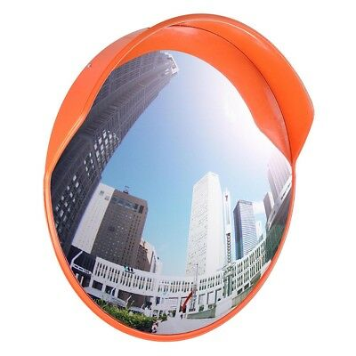 """24"""" Wide Angle Security Convex PC Mirror Outdoor Road Traffic Driveway Safety"""