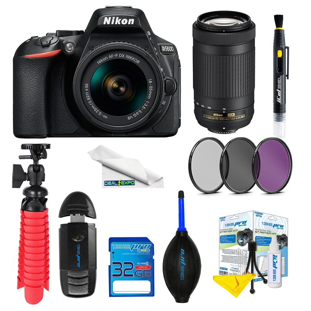 Ean 4960751599924 Nikon D5600 Dslr Camera With 18 55mm And 70 Kit Vr Product Image For
