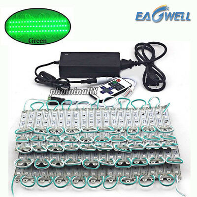 Green 10~100FT 5050 SMD 3 LED Module STORE FRONT Window Sign Light Strip DIY (Diy Light Kit)