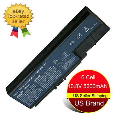 New Laptop Battery for Acer AS07B31 AS07B41 Aspire 5310 5315 5520 5535 5720 US