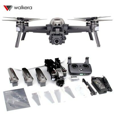 Walkera Vitus 320 Starlight night vision folding drone 3 batteries Combo 1080P