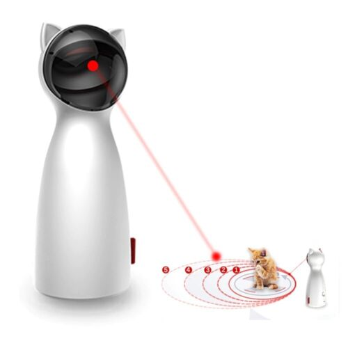 Cat Automatic Interactive Toys Smart Teasing Pet LED Laser Funny for All Cats