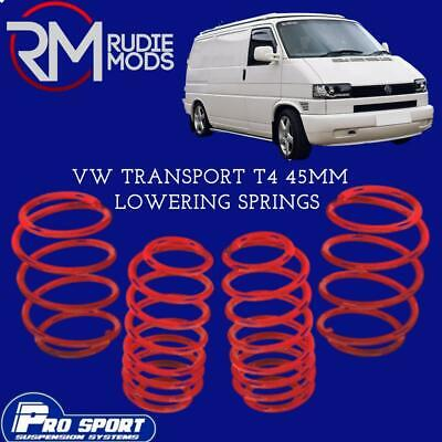 VW T4 transporter 55mm Gmax lowering springs