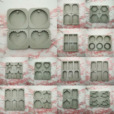 Craft Silicone Aromatic Cement Plaster Pot Mold DIY Soap Making Silicon Mould