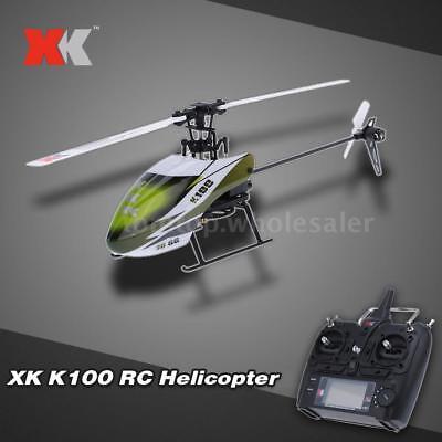 - Original XK Falcon K100 6CH 3D 6G System RTF RC Helicopter O5B6