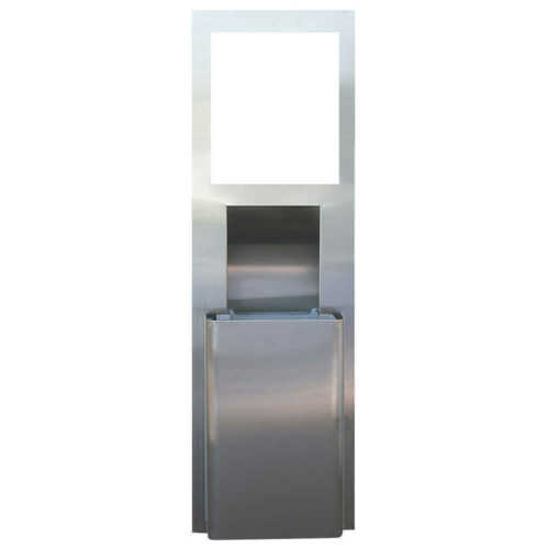 KIMBERLY-CLARK MOD RECESSED WALL UNIT WITH TRASH RECEPTACLE  35370