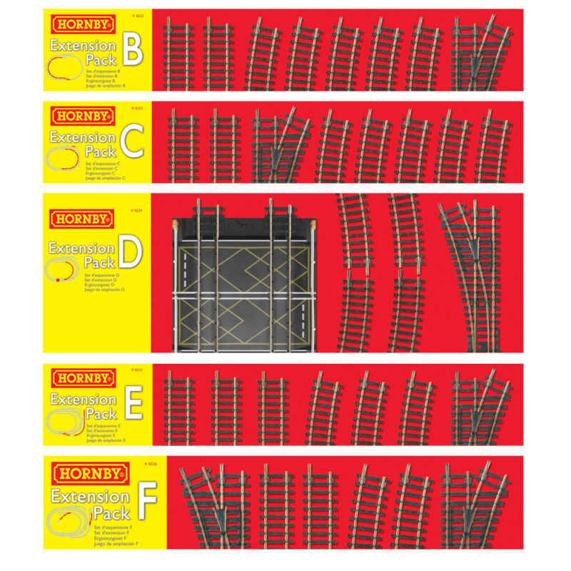 Hornby Extension Pack Choice of Packs One Supplied NEW