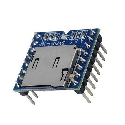 1pcs Micro Sd Tf U-disk By8001-16p Mp3 Player Arduino Audio Voice Module Board