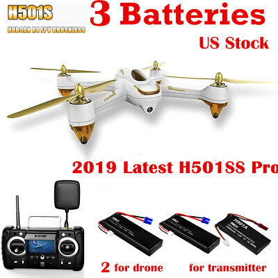 Hubsan X4 H501S Pro FPV Drone 5.8G Brushless Quadcopter 1080P Headless GPS RTF