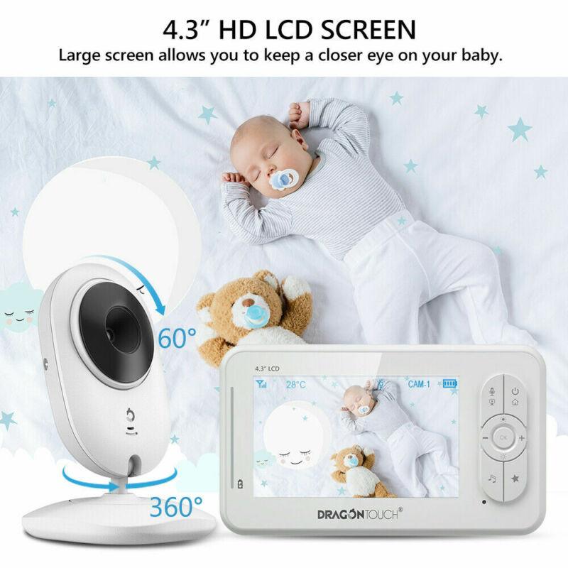 DT40 Baby Monitor Camera Video Night Vision Temperature Monitoring   Refurbished