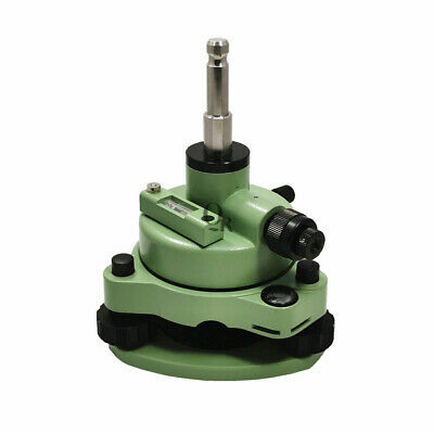 Green Tribrach Adapter With Optical Plummet Swiss-style For Total Station Prism