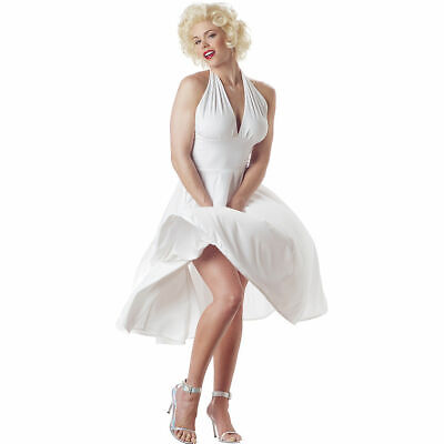 Marilyn Monroe Halloween Costumes ( California Costume Marilyn Monroe Seven Year Itch Halloween Costume White)