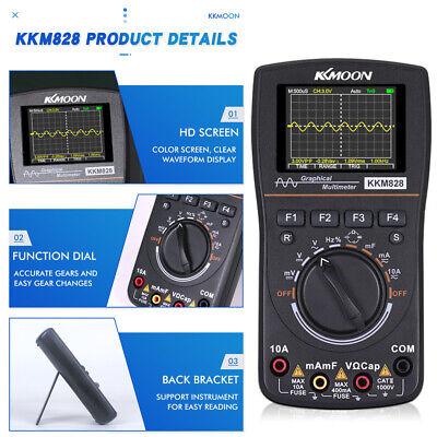 Kkmoon 2 In 1 Intelligent Digital Auto Oscilloscope Multimeter Frequency Meter