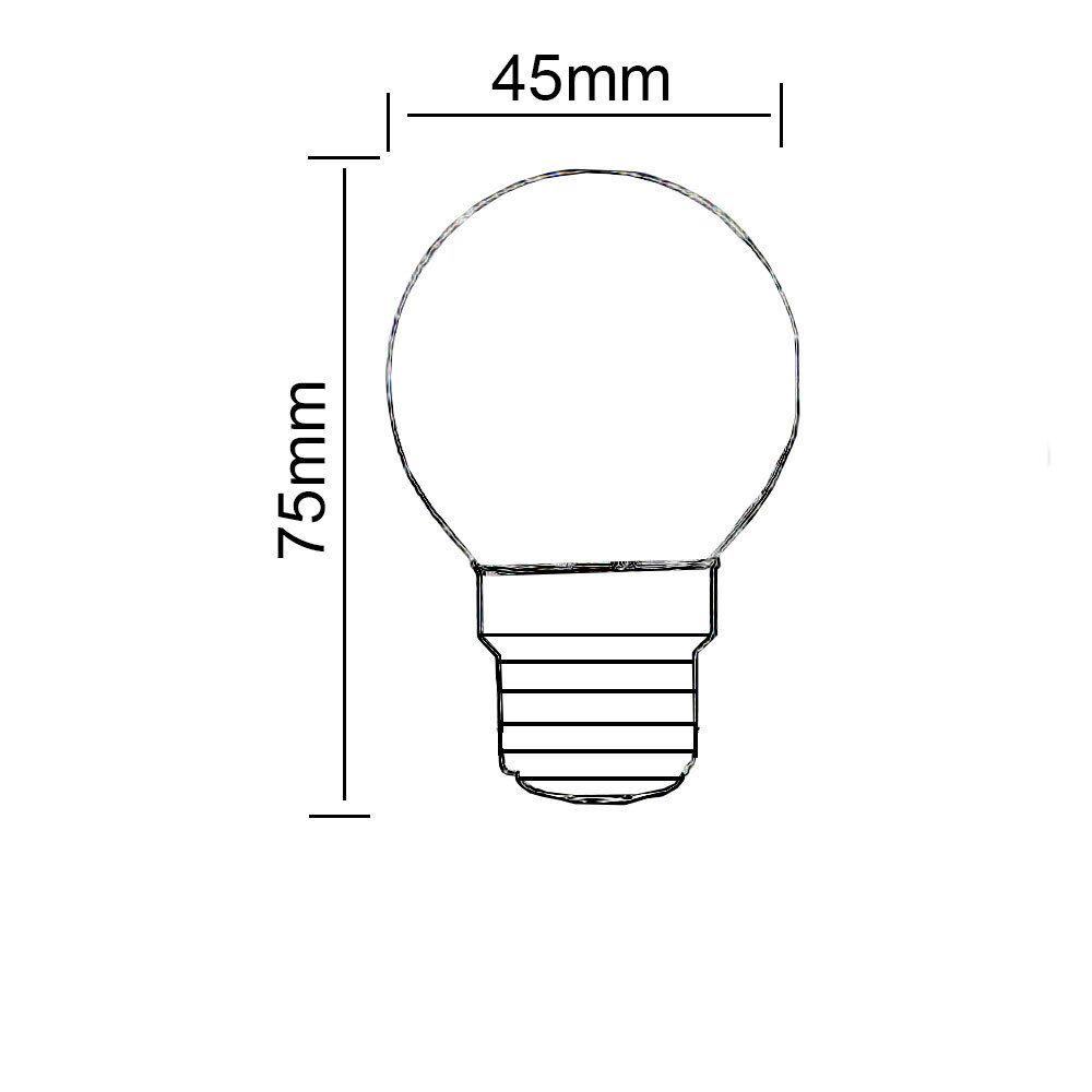 eco halogen energy saving golf ball light bulbs b22 e14
