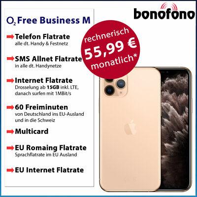 Apple iPhone 11 Pro Max 64GB - o2 Free Business M Allnet Flatrate|Internet 15GB online kaufen