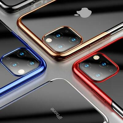 For iPhone Case XR 8 7 6s Plus XS 11 Bumper Shockproof Silicone Protective Cover