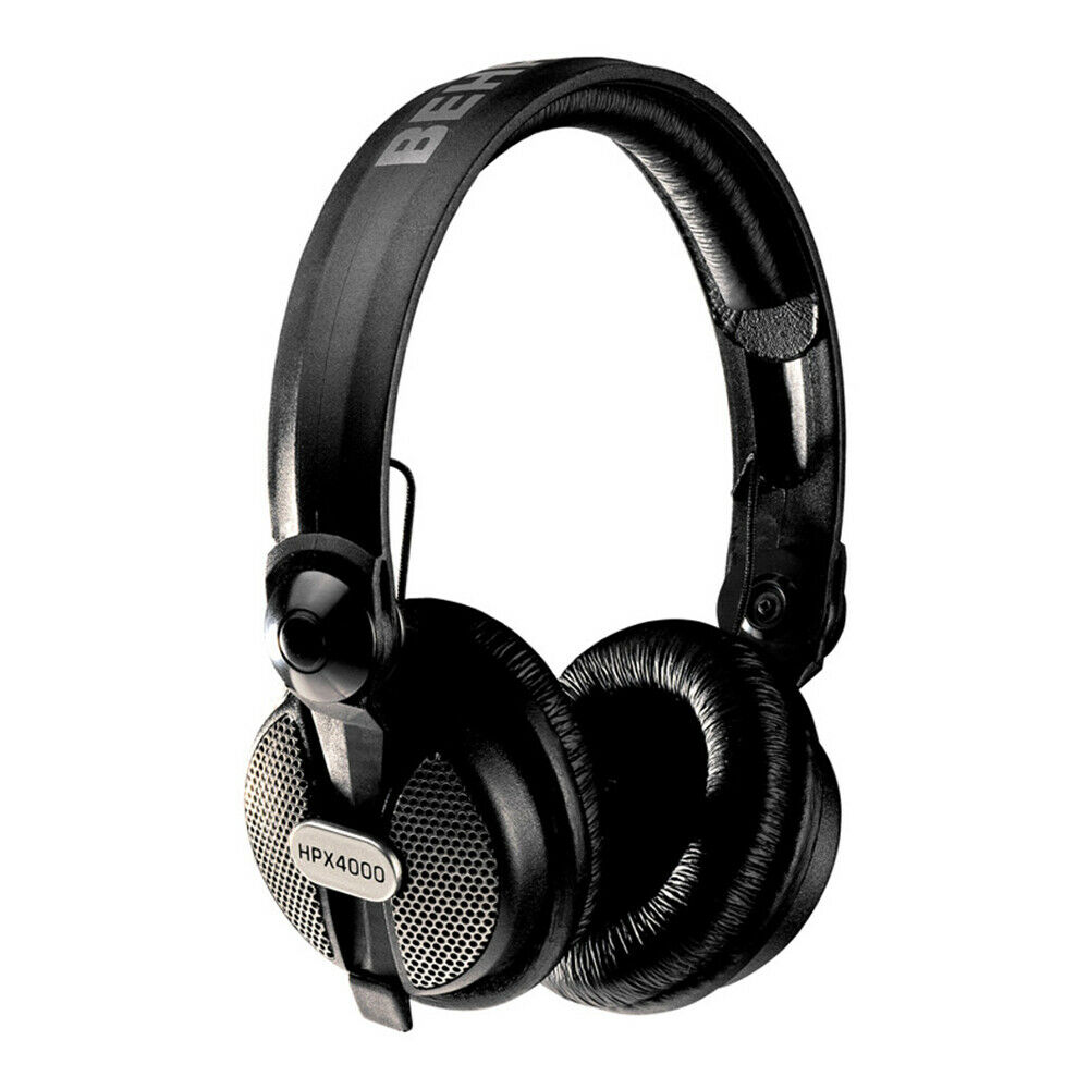 Behringer HPX4000 Behringer High Definition Bass DJ Music Headphones HPX-4000