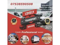 MAN AND VAN HIRE/REMOVAL/FR £15/ ASSEMBLY/DELIVERIES/IKEA/TRANSPORT/COURIER/CLEARANCE SERVICE LONDON