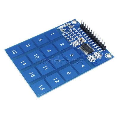 Arduino Ttp229 16 Channel Digital Capacitive Switch Touch Sensor Module