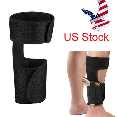 US CONCEALED ANKLE LEG HOLSTER for G17 19 22 23 9MM HandGUN PISTOL Hidden carry
