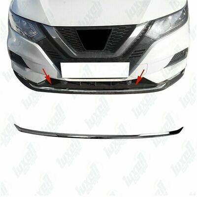 FOR NISSAN QASHQAI J11 S.Steel Chrome Front Bumper Streamer 1 Pcs [2017 Onwards]