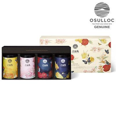 OSULLOC Memory in Jeju Tea Gift Set 1.5g x 40pcs 4Flavor Pyramid Tea Bags