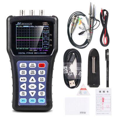 Digital Handheld Oscilloscope Signal Generator Jinhan Jds6052s 50mhz Usb 3.8tft