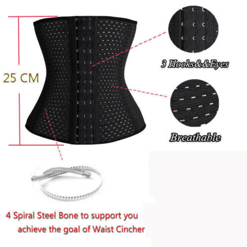 Women Slimming Body Tummy Shaper Control Waist Cincher Trimmer Belt Underbust