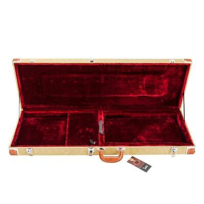 Glarry ST High Quality Protable Electric Guitar Square Hard Case Flat