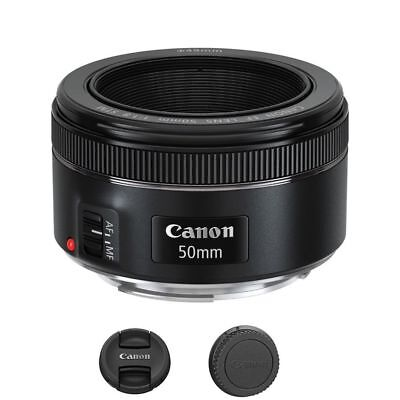 Canon EF 50mm f/1.8 STM Lens For Canon DSLR Cameras - Brand New in Retail Box
